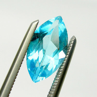 Marquise Cut Shape Swiss Blue Natural Blue Topaz Loose Gemstone