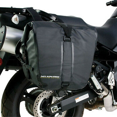 Nelson Rigg NEW SE-2050 Survivor Dry Motorcycle Adventure Touring Saddlebags