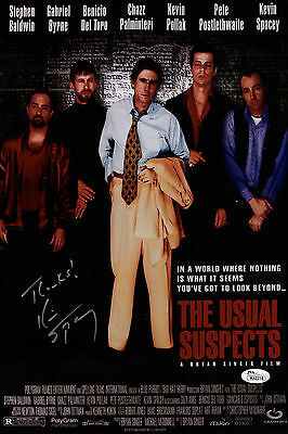 Kevin Spacey Signed The Usual Suspects 10X15 Movie Poster Jsa Coa K42218