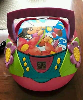 Dora The Explorer CD / Radio / Cassette Player