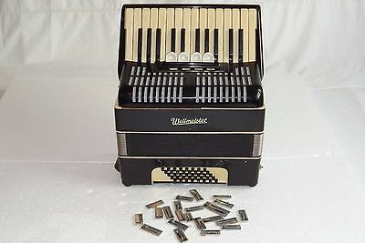 Piano accordion akkordeon WELTMEISTER  40 bass-DEFECT,FOR PARTS