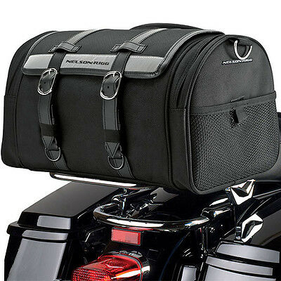 Nelson Rigg NEW CTB-1020 Deluxe Motorcycle Road Bike Street Bike Barrel Bag Pack