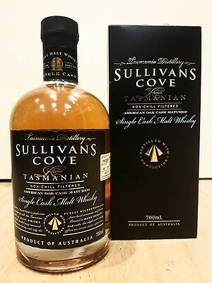 Sullivans Cove American Oak Cask Matured Single Cask Malt Whisky