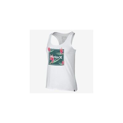 Débardeur Hurley One Only Birds Of Paradise Perfect Tank White