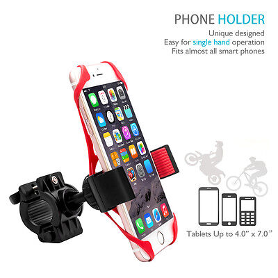 Mount Holder Bicyclette Vélo Support Guidon Téléphone Support 360 °Rotation Grip