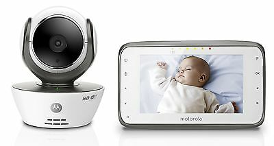 Motorola MBP854CONNECT Dual Mode Baby Monitor with 4.3-Inch LCD Parent Monito...