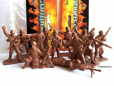 HING FAT TOYS (DGN) - Russian Infantry WWII, plastic soldiers1:32 NEVER OPENED