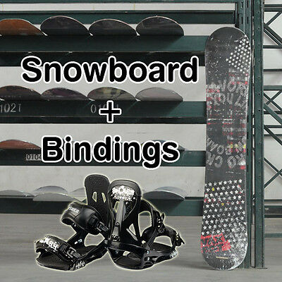 New VAXPOT Snowboard 150cm & Perysher Bindings Complete Set Combo