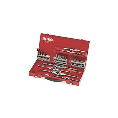 Ruko Thread Cutting Set 5 and 6 in Steel Case 44 Piece