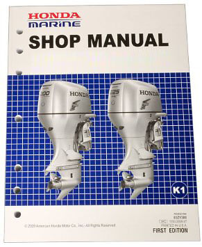 Fast delivery HONDA MARINE OUTBOARD WORKSHOP SERVICE MANUAL ALL MODELS B* BF* GB