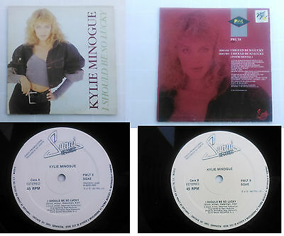 """Kylie Minogue – I Should Be So Lucky PROMO SPAIN 1988 EDITION 12"""""""