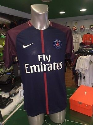Maglia Calcio Shirt Football Psg Paris St Germain Nike Home 2017/2018 Breathe