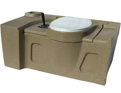 JOBEC Recirculating Flat Floor Self Contained Toilet Flush Tank (Complete)