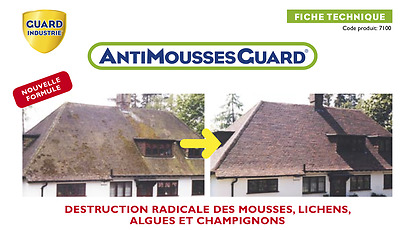 Klinkup : AntiMousses Guard (Guard Industrie)