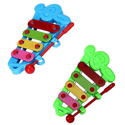 Baby Child Kid 4-Note Hand knock piano Musical Instrument Toys Wisdom Develop BF