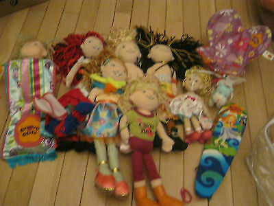 Nice Lot Of Groovy Girl Dolls And Accessories Plus A Cute Horse