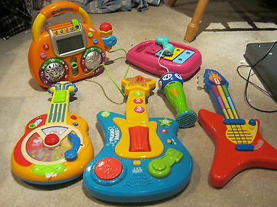 Lot Of Baby/toddler Musical Toys Leap Frog,little Tikes, Plus More