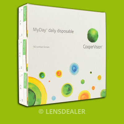 »» MYDAY DAILY DISPOSABLE 90er »WERTE WÄHLBAR« KONTAKTLINSEN TAGESLINSEN COOPER«