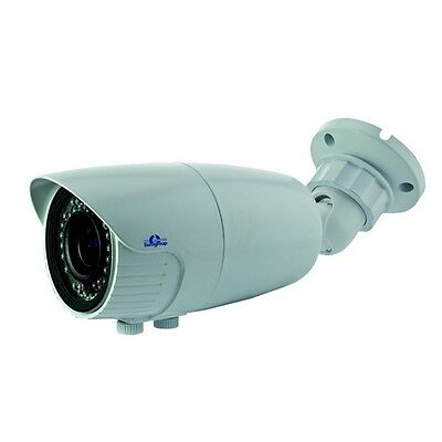 Telecamera Bullet CMOS 800 linee IR Giorno Notte con ICR 12 mm 42 LED 45 metri