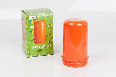 Campana naranja luz de seguridad cuarto oscuro/ DARKROOM SAFELIGHT orange n4