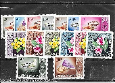 Maldive Islands 1966 Set M/mint Cat £70.00