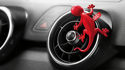 Audi Gecko Air Freshener Red 000087009B Genuine