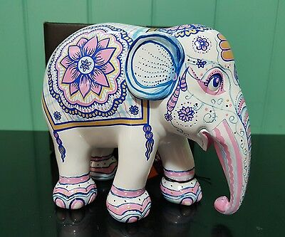 Elephant parade - 15cm Indian Blues Elephant - Collectable ornament statue