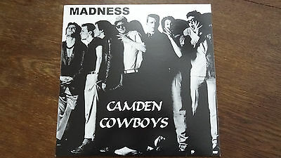 Madness -Camden Cowboys rare Japan Press PicLP