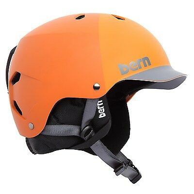 Bern Watts Snow Helmet - Matte Orange - L/XL