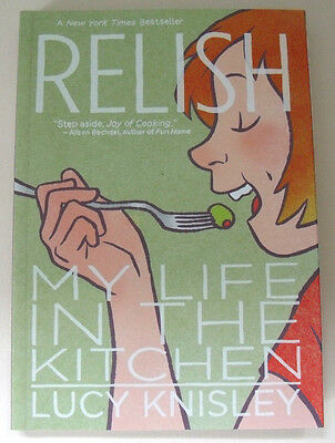 New RELISH My Life in The Kitchen GRAPHIC NOVEL Lucy Knisley COOK BOOK Comic
