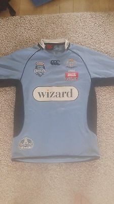 NSW New South Wales rugby league Canterbury Medium jersey shirt State of Origin