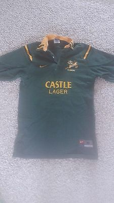 South Africa Springboks Nike, 2000, Jersey shirt, medium, test match fit