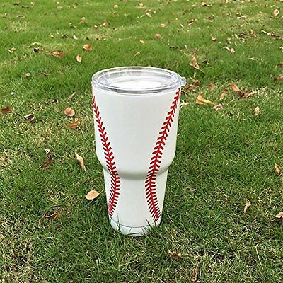 Baseball tumbler 30Oz gift for men or women take me out to the ball game