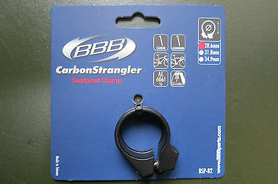 BBB Carbon Strangler seat post clamp BSP-82 for carbon seatposts 28.6mm