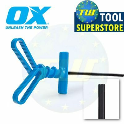 OX Tools Pro MixM8 Rubber Blade Plaster Mixing Paddle Mixer 10mm HEX P121910