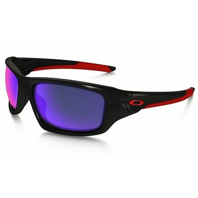 Lunettes De Soleil Oakley Valve Polished Black/positive Red Iridium