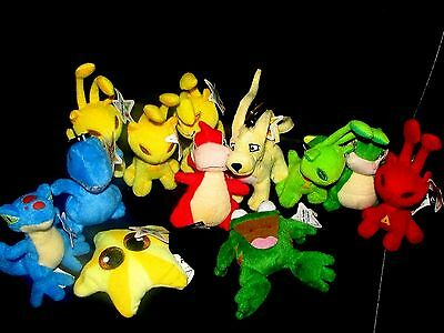 Lot of 12 McDonald's NEOPETS Plush Happy Meal Toys