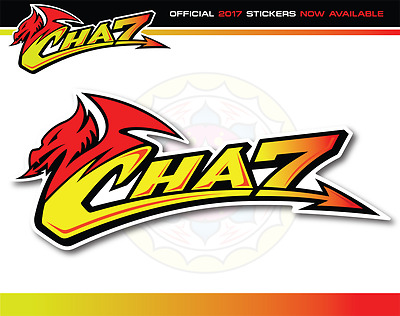 Official Chaz Davies Ducati Motorcycle rider sticker World Superbikes x2
