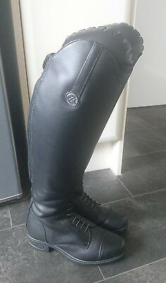 Mountain Horse Richmond Caliber Long Leather Riding boots, size 5 (38) Wide fit