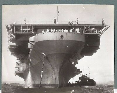 Vtg Press Photo 1946  Us Aircraft Carrier Franklin D Roosevelt  #2141