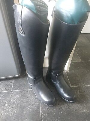 Mountain Horse Sportive High Rider II Size 4 (37)  Wide leather riding boots