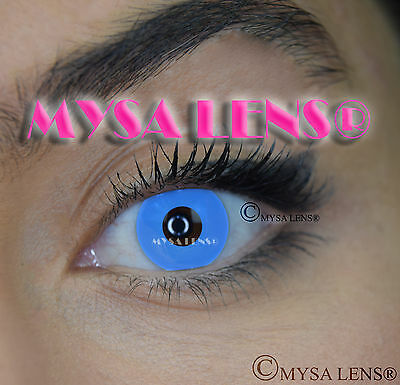 Crazy Coloured Contact Lenses Kontaktlinsen color contact lens Bleu Out