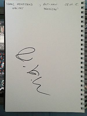 Original Autograph of Isaac Hempstead Wright (In Person) Game of Thrones