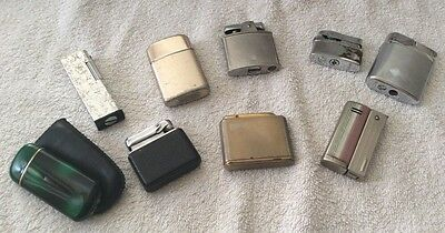 Selection Of Vintage Cigarette Lighters - Ronson, Imco, Colibri, Brother-Lite Et