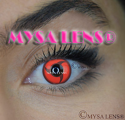 Crazy Coloured Contact Lenses Kontaktlinsen color contact lens Naruto Itachi