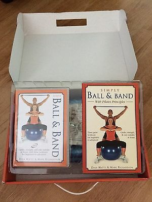 Ultimate Pilates Ball Band Workout With Pilates Book Dvd Principles Ideal Gift