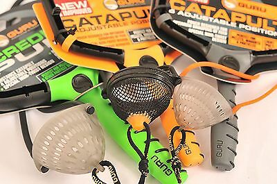 Korda Guru Original / Light / Incredible Catapults & Spare Pouches / Elastics