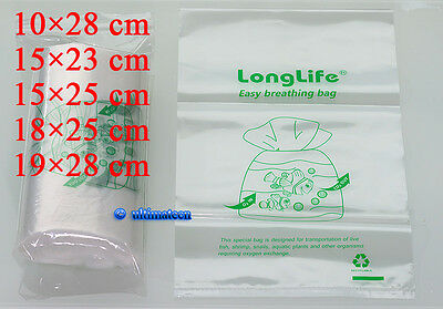 100 pcs - LongLife Aquarium Breathing Bags ~Kordon breather Substitute