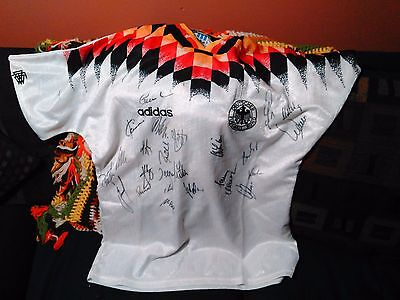 German Soccer Football World Cup SIGNED Jersey 1994
