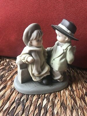 Enesco 1997 Pretty as a Picture You're My Only Love Figurine 324116 Boy Girl
